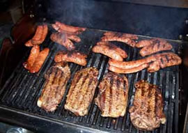 charcoal grilling picture