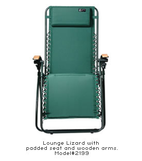 Lounge In Comfort While Camping With The Lounge Lizard